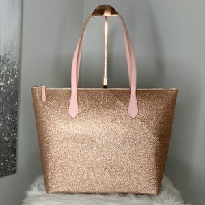 ✨ Kate Spade Rose Gold Joeley Tote ✨